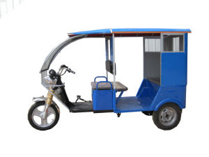 Cheap Electric Passenger Tricycle Rickshaw 500W (HD-014) pictures & photos