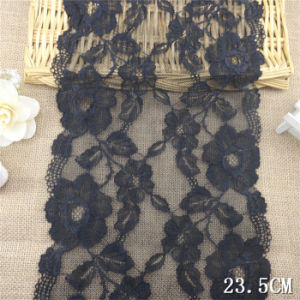 Low Price Big Black Strentch Lace for Women Underwear pictures & photos