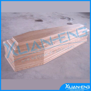 Cheap Wood Coffin for Cremation for Spanish Market pictures & photos