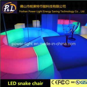 Glowing Lounge Furniture RGB Color Changing LED Chair pictures & photos