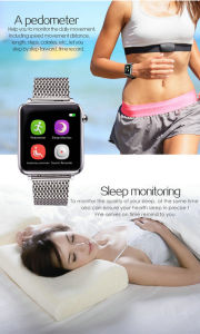Smart Watch Bluetooth, ISO Android Phone IP68 Waterproof