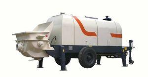 HBTZ60-08-118R Gate Valve Towed Truck-Mounted Concrete Pump