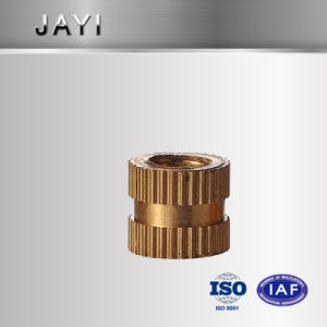 Straight Knurling Nut, Insert Nut, CNC Machined Parts, Copper Nut pictures & photos