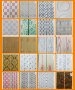 Wooden Normal Printing PVC Ceiling Plank for Interior Decoration SGS pictures & photos