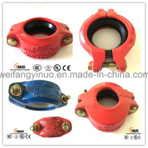 1nuo Ductile Iron Flexible Grooved Coupling for Fire Sprinkler Systems pictures & photos