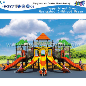 Children Playground Outdoor Slide Play Equipment HD-Tsg014 pictures & photos