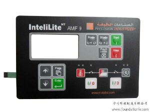 Electronic Touch Digital Control Panel Keypad Membrane Switch pictures & photos