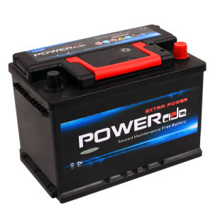 DIN 57512-12V75ah Maintenance Free Car Battery with RoHS/CE/Soncap
