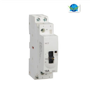Manual Energy Conservation Household Modular AC Contactor (WCT-16A 2P) pictures & photos