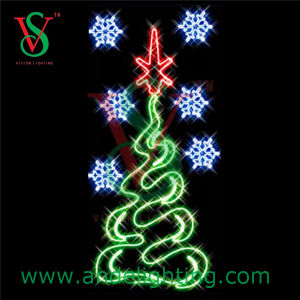 2D Christmas Tree Decoration Light for Stret Decoration pictures & photos