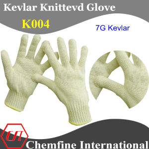 7g Kevlar Knitted Glove pictures & photos