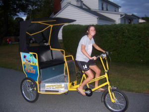 Promotion Pedal and Electric Pedicab Rickshaw pictures & photos