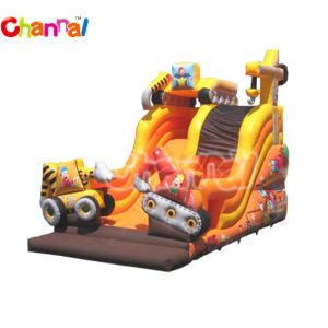 Digger Inflatable Slide/Large Inflatable Slide for Sale (Bb040) pictures & photos