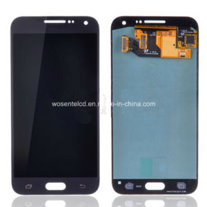 E5 Original LCD Display Screen Touch Digitize Assembly for Samsung Galaxy E5 Sm-E500f E5000 LCD 5 Inch + No Dead Pixel
