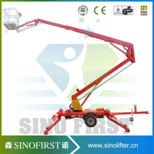 Sinofirst Electric Hydraulic Towable Man Lifts for Sale pictures & photos