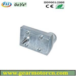 Gyf95bl-B 9V-14VDC 95mm Base High Torque Low Speed Flat Metal DC Gear Motor