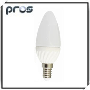 Ceramic 3W LED Bulb Lighting Candle pictures & photos