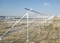 Solar Steel Profile with Min 60um Guarantee for PV Projects pictures & photos