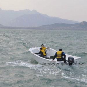 Liya 5.8m Fishing Panga Boat Fiberglass Boat for Fishing Sale pictures & photos