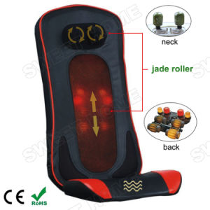 Electric Shiatsu Kneading Jade Stone Massage Cushion with Infrared Heat pictures & photos