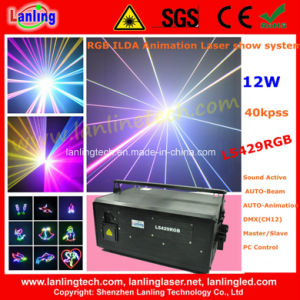 High Power 12W Ilda Animation Laser Show System pictures & photos