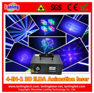 3D Animation DMX Stage Disco Laser Lighting pictures & photos