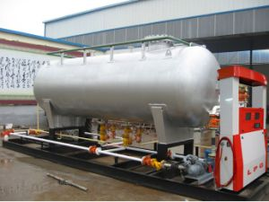 Mobile LPG Filling Skid Station pictures & photos
