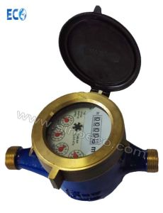 Multi-Jet Semi Liquid Sealed Vane Wheel Cold / Hot Water Meter Class C pictures & photos