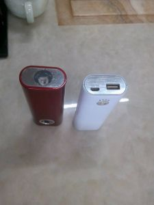 with Bright LED Flashlight Power Bank