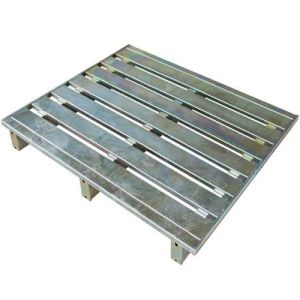 Galvalized High Quality Stackable Heavy Duty Steel Pallet pictures & photos