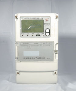 Three Phase Fee Control Smart Meter with Carrier Module pictures & photos