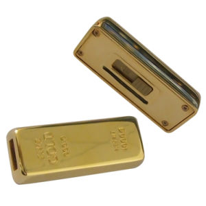 Gold Bar USB Flash Drive with Custom Logo pictures & photos