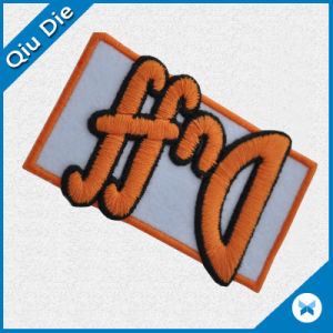 High Quality 3D Embroidered Patches for Garment/Cap pictures & photos