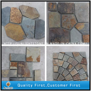 Natural Split Paving Slate Stone for Landscape pictures & photos