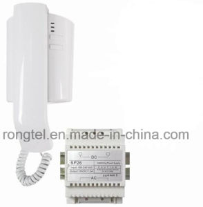 White Handset for Villa Intercom System pictures & photos