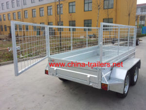 Hot DIP Galvanized Box Trailer (TR 0305) pictures & photos