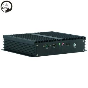 Fanless Mini PC 12V, Mini Linux Embedded Cheap Fanless Mini Industrial PC with Gpio pictures & photos