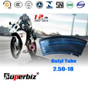 ISO Standard Motorcycle Butyl Inner Tube (2.50-18) pictures & photos
