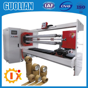 Gl--709 Carton Equipment for Adhesive Packing Tape Cutting pictures & photos
