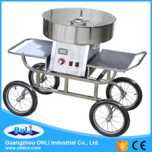 Commercial Electric Cotton Candy Floss Machine Cart pictures & photos