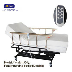 Electric Lifting Hospital Bed with 4 Zones Adjustable (Comfort300L) pictures & photos
