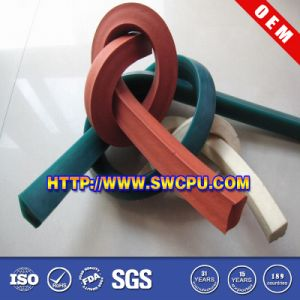 Window & Door Extruded Sealing Rubber Strip (SWCPU-R-E027) pictures & photos