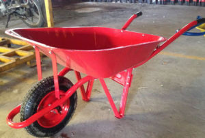 Heavy Duty Wheel Barrow with Powder Coating Wb6287 pictures & photos