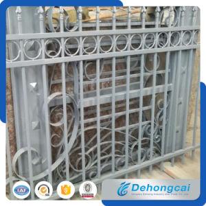 Anti-Climbing Galvanized Wrought Iron Fence pictures & photos