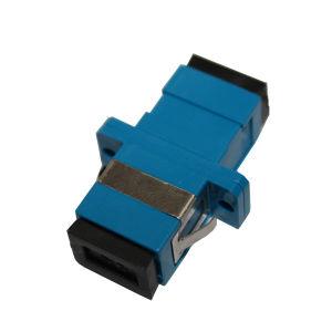 Plastic Sm Simplex Sc Fiber Optic Adapter