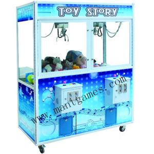 Golden Key Gift Game Machine Toy Crane Machine with Bill Acceptor pictures & photos