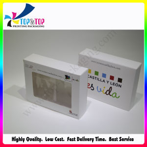 Best Price Paper Card Box with Plastic Window pictures & photos