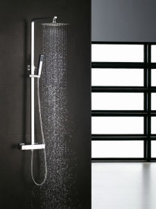 Square Thermostatic Shower Mixer Shower Faucet (GS2203-SF) pictures & photos