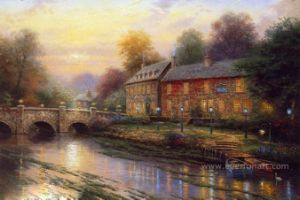 Classical Thomas Landscape Oil Painting for Home Decor pictures & photos