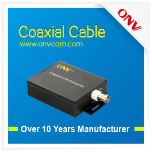High Quality 10/100m Ethernet Over Coaxial Eoc Converter